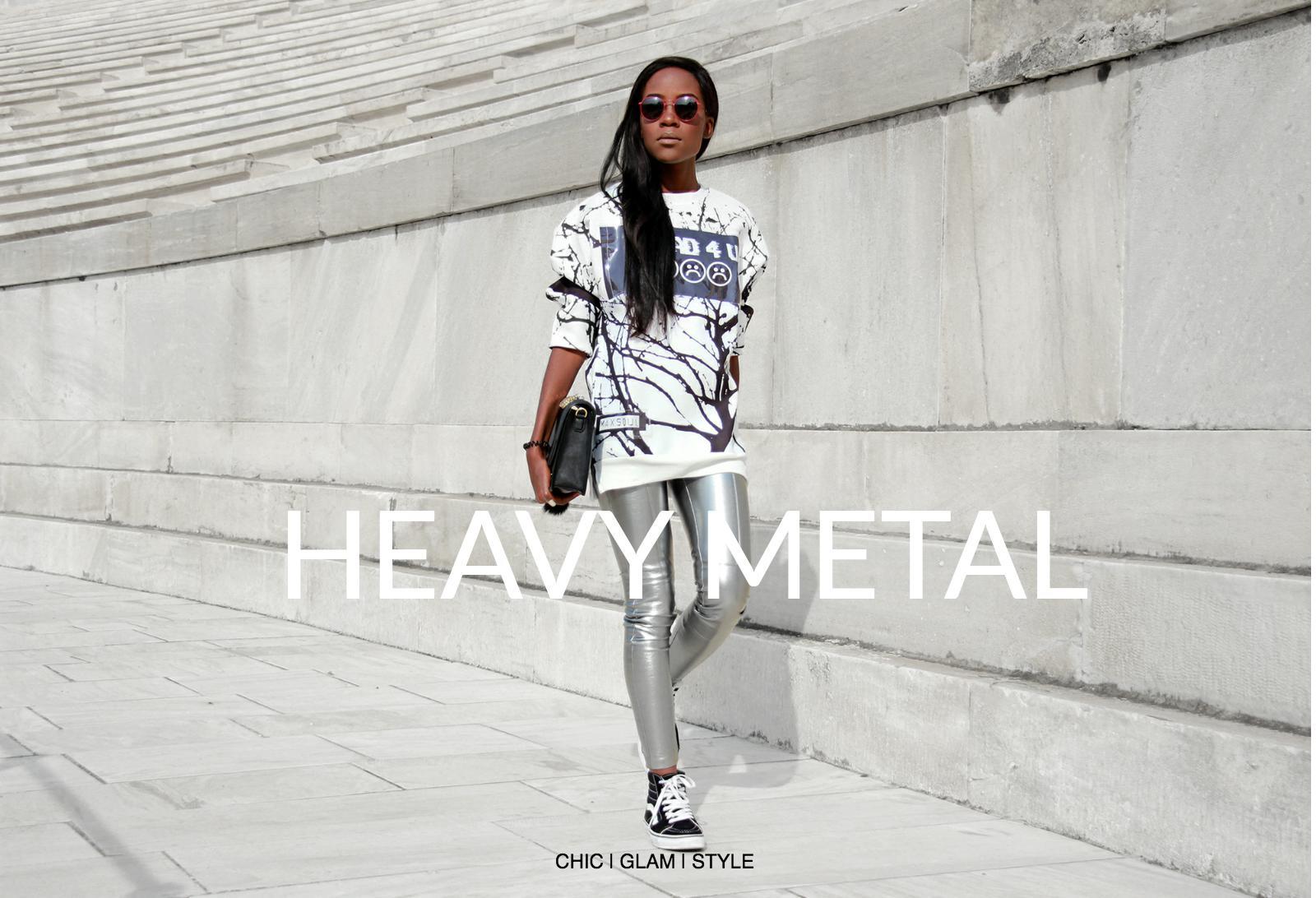 how-to-wear-metallic-trousers