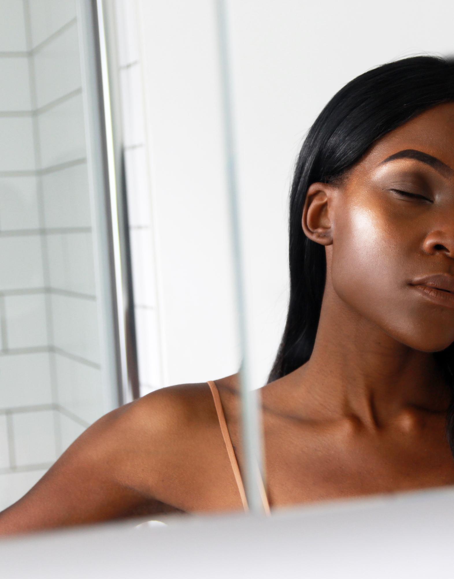 black-girl-cheekbone-glowing