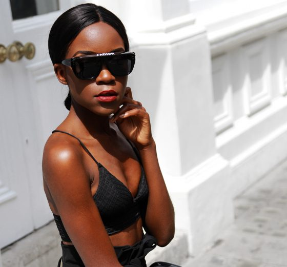 Dior Club 2 sunglasses in black