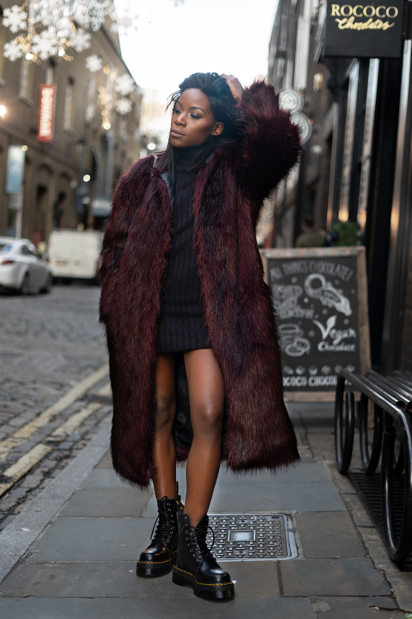 burgundy-faux-fur-coat