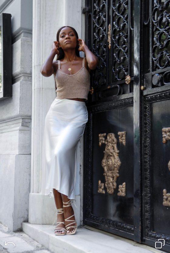 white-satin-skirt