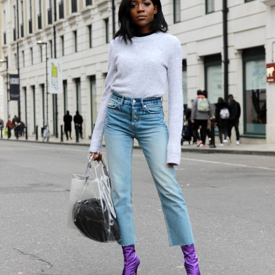 The Jeans That Make Your Legs Look Longer
